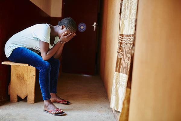 Estelle, survivante de VLG en Centrafrique, ©Christophe Da-Silva