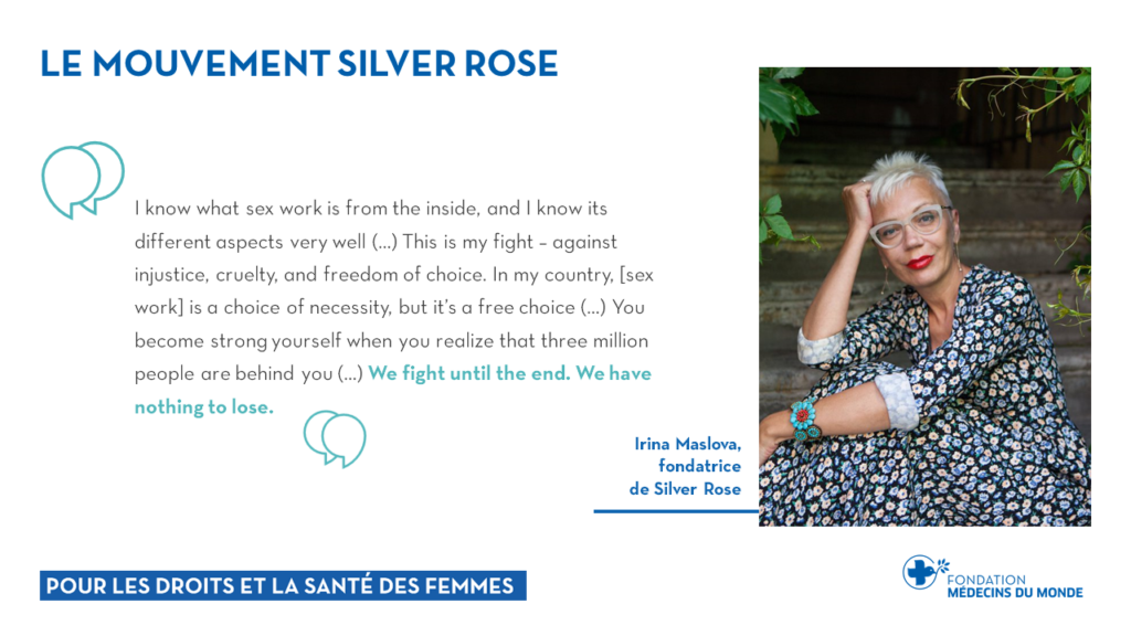 Présentation Silver Rose Irina Maslova Novembre 2020