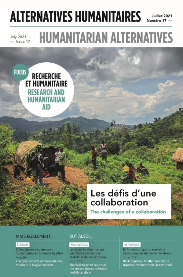 Couverture d'Alternatives Humanitaires n°17